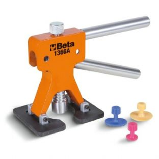 Beta 1366A Dent Puller with 19 Plastic Glue Tabs